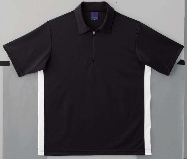 フロント部が釦ではなく ファスナー仕様がアクセント 送料無料 マスダ Seasonal Wrap入荷 EG-210半袖ジップシャツ 買取 5枚以上からご注文可能 返品 交換不可 代引き不可 時間指定不可 メーカー直送