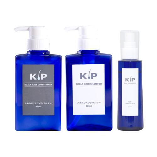 【送料無料】 KIP スカルプヘア スタートケア 3点セット (男女用)[スカルプ / ヘアケア / スカルプケア / シャンプー / KIP / コンディショナー / エッセンス]【オススメ】