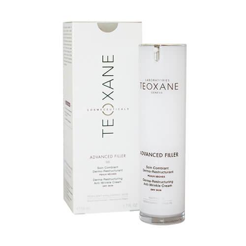 世界的に有名なヒアルロン酸メーカー 「TEOXANE Laboratories」が開発。ヒアルロン酸が水分を補い、「パルミトイルテトラペプチド-7」がキメを整え、ハリのある肌へ。 テオシアル アドバンスドフィラー 50mL[ テオシアル アドバンスドフィラー ]【オススメ】