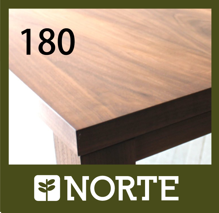 180 ダイニングテーブル 無垢 ダイニング テーブル 無垢材 オーク/ウォールナット ナチュラル アンティーク モダン 北欧 シンプル インテリア NRT-DT180-773AM