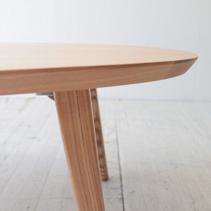 North European folding leg Oval living table NRT-105OCT-ASH Ashe materials