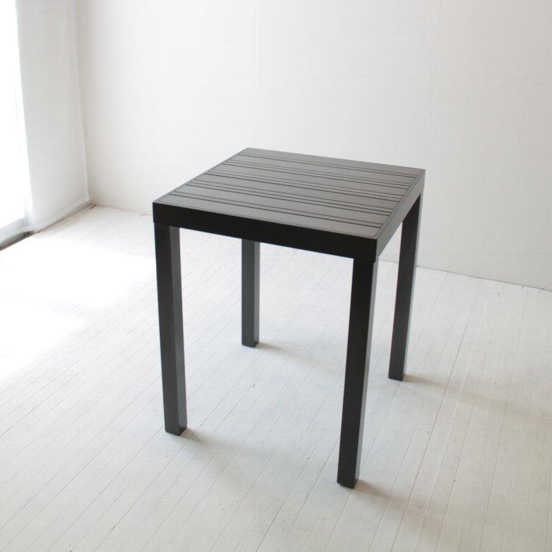スタイリッシュなアルミのダイニングテーブル NRT-GAD-9115