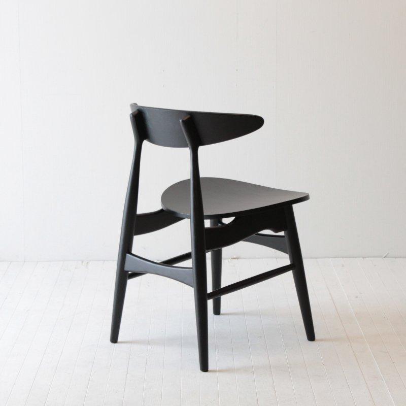 北欧家具 ダイニングチェア 木製 ダNRT-C-611BBK 板座 北欧 シンプル モダン 木目 椅子 イス ラップチェア ナチュラル ラップチェア アッシュ材