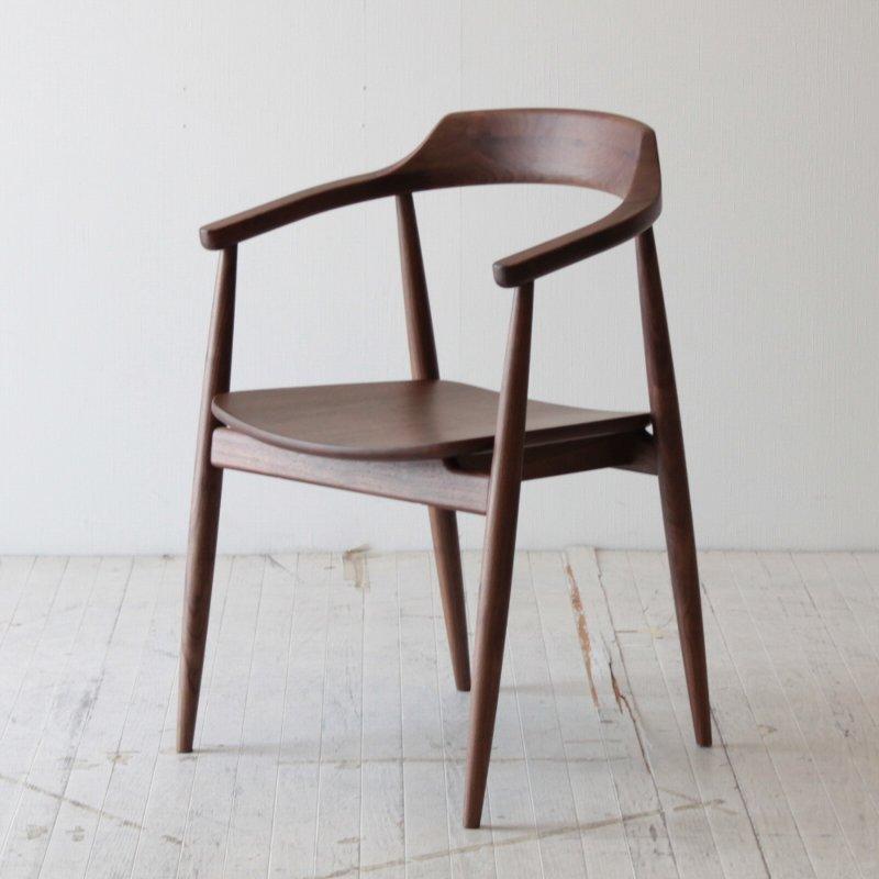 北欧家具 ダイニングチェア 無垢 天然木 木製ダイニングチェア 北欧 椅子 食卓椅子 いす イス 木脚 天然木椅子 チェア イス 肘掛付き NRT-C-675