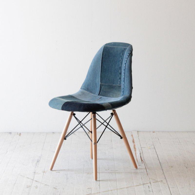 北欧家具 ダイニングチェア キッチン スツール 木製 椅子 イス チェア モダン おしゃれ オシャレ シンプル デザイン 無垢 天然木 デニム NRT-ST-DENIM