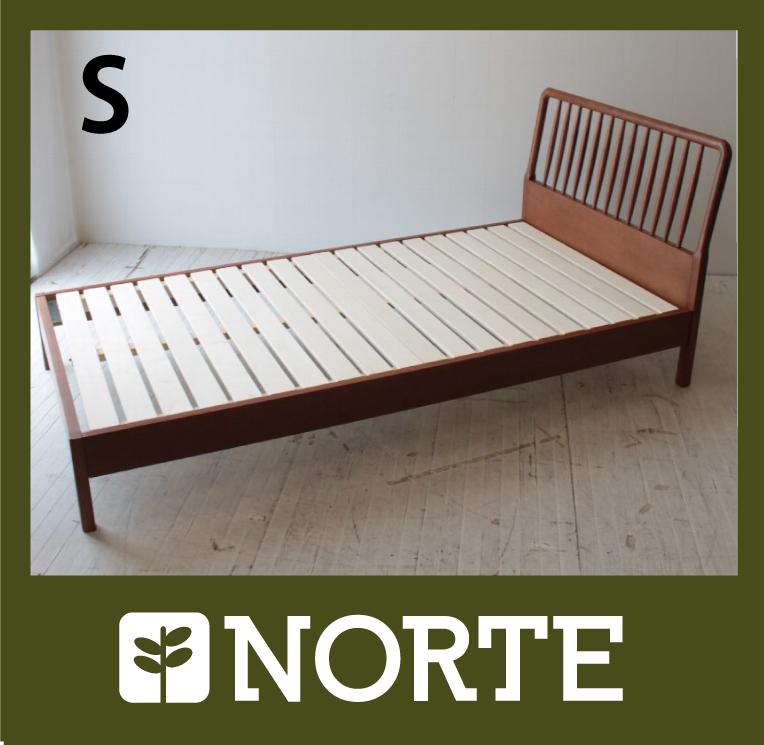 すのこ ベッド オーク材 清潔で軽く、無駄がない美しいシングルベッド
