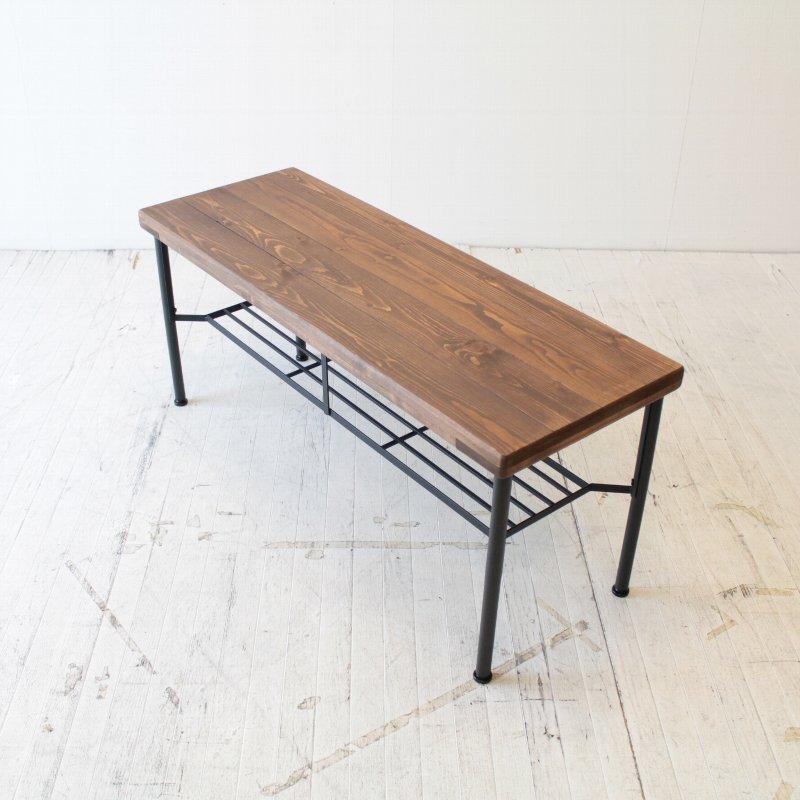 北欧家具 ダイニングチェア 無垢材 テーブルとしても活躍するハードでカッコいいダイニングベンチ