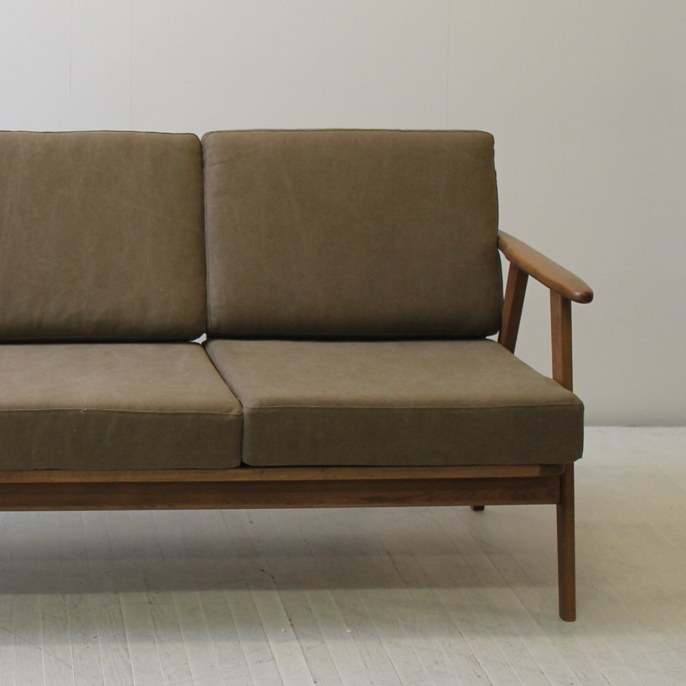 北欧家具 ダイニングソファ 2p コンパクトでシンプルなつくりのスタイリッシュなソファ