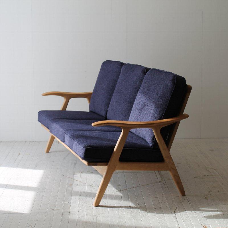 北欧家具 ソファ 無垢材 涼しげで清潔などこから見ても美しい国産のソファ