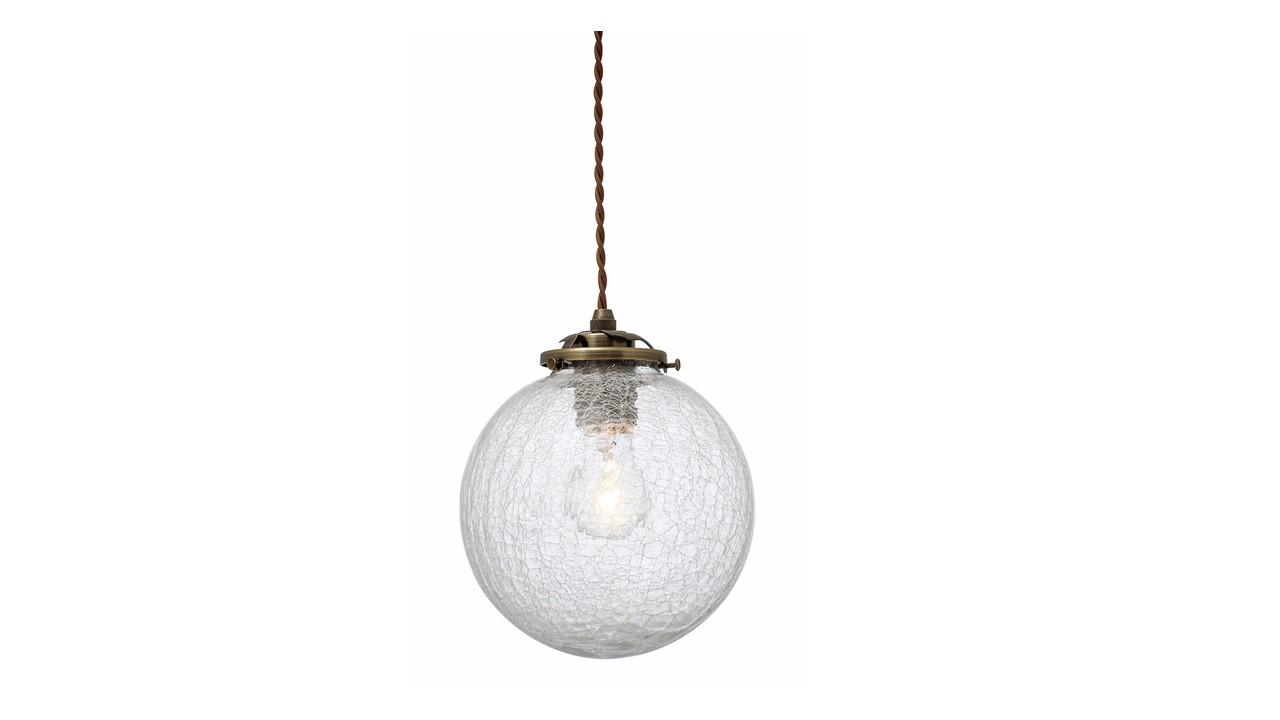 インターフォルム【INTERFORM】Orelia(L)オレリアL LT-1944 電球無し クラックガラス