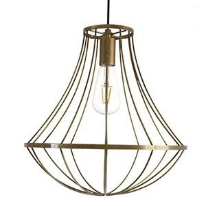 【ディクラッセ】 【DI CLASSE】LED ジェンマ ペンダントランプ -LED Gemma pendant lamp-アンティーク ゴールド