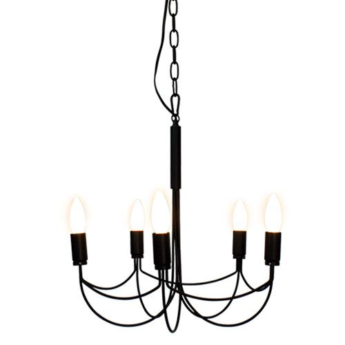 【ディクラッセ】 【DI CLASSE】アルコ スモール シャンデリア Arco small chandelier ブラック