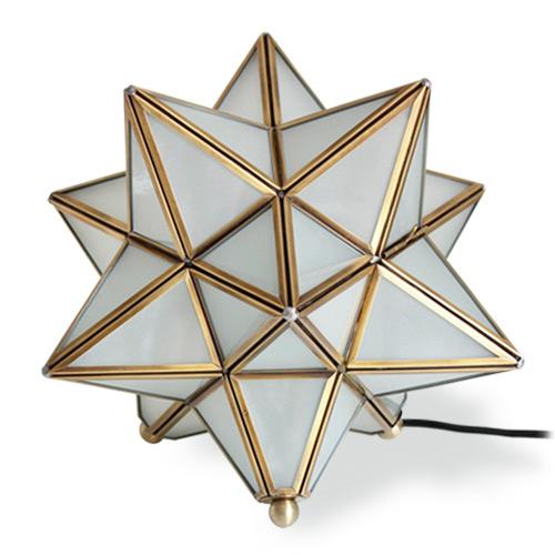 【ディクラッセ】 【DI CLASSE】エトワール テーブルランプ -Etoile table lamp- フロスト