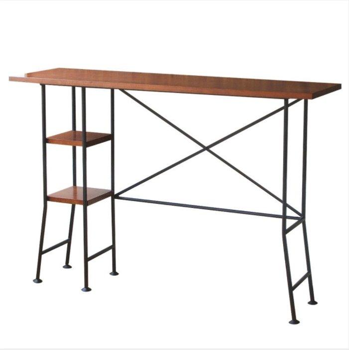 お家でカフェバー気分が味わえるカウンターテーブル BRESCIA BAR COUNTER