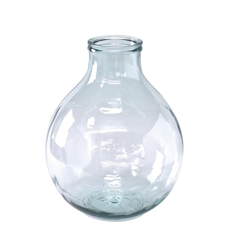 スパイス バレンシア リサイクルガラス フラワーベース TRES クリア