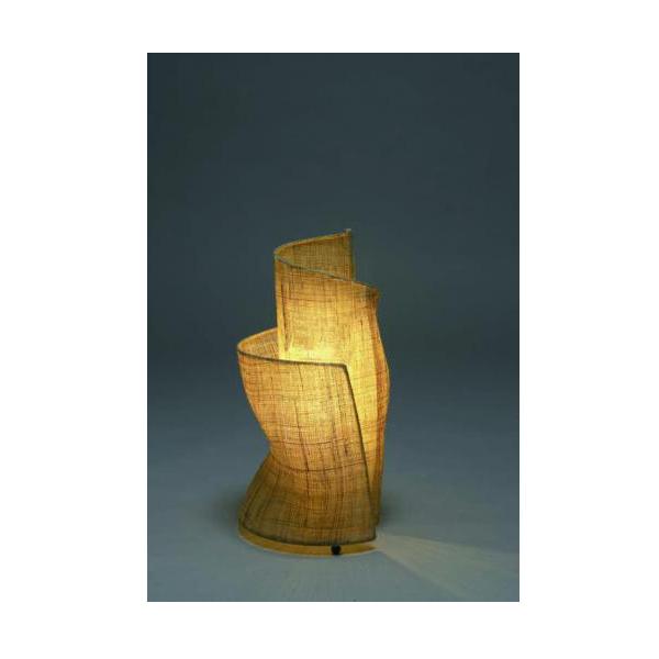 「Fores」「林工芸」麻布の照明 スタンド SA-45