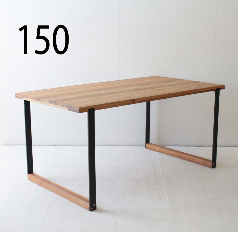 150ダイニングテーブル(CNT-T-127649)ホワイトオーク