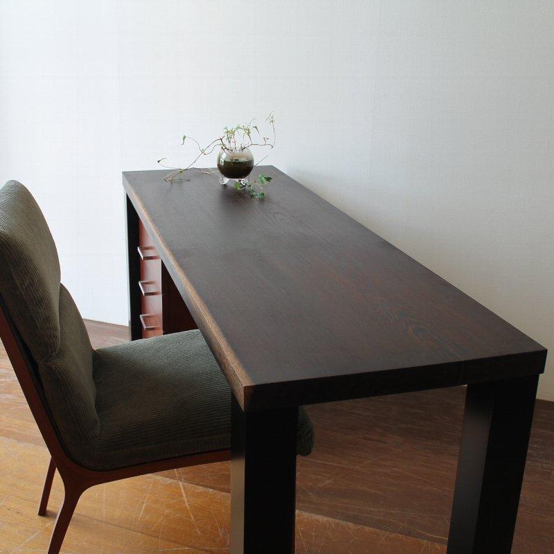 rewood テレワークテーブル CNT-teleWork-M1【ウェンジ 】通常価格9万円のところ期間限定8万円!(税別)