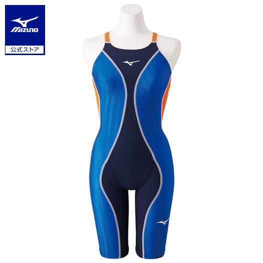 [ミズノ]競泳用FX・SONIC+ ハーフスーツ[レディース]