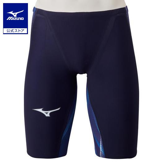 [ミズノ]競泳用GX・SONIC V MR ハーフスパッツ[メンズ]