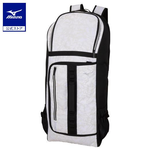 商舗 ミズノ公式 ラケットバッグ 2本入れ バックパック型 値下げ ホワイト