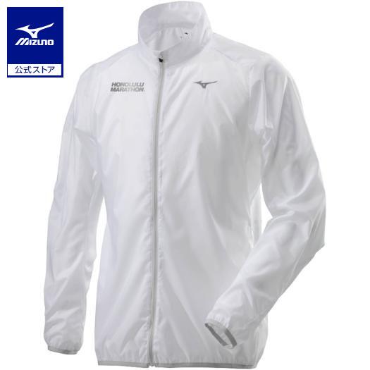 ミズノ公式 【ミズノ直営店限定】ホノルルポーチジャケット メンズ   ホワイト