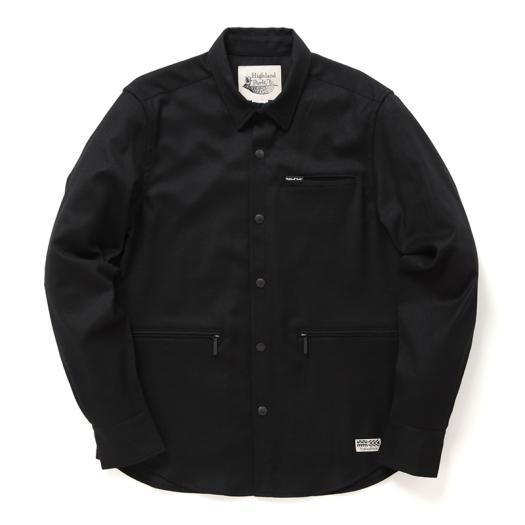 [ミズノ]【ハイランドパーク】ウールシャツ[メンズ]