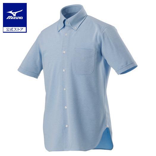 [ミズノ]アイスタッチ半袖ワイシャツ/ニット[メンズ]