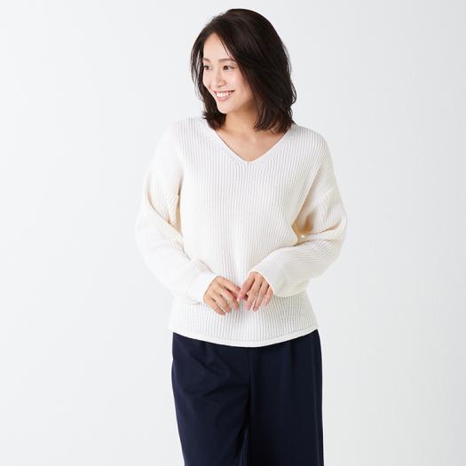 [ミズノ]ブレスサーモVネックセーター[レディース]