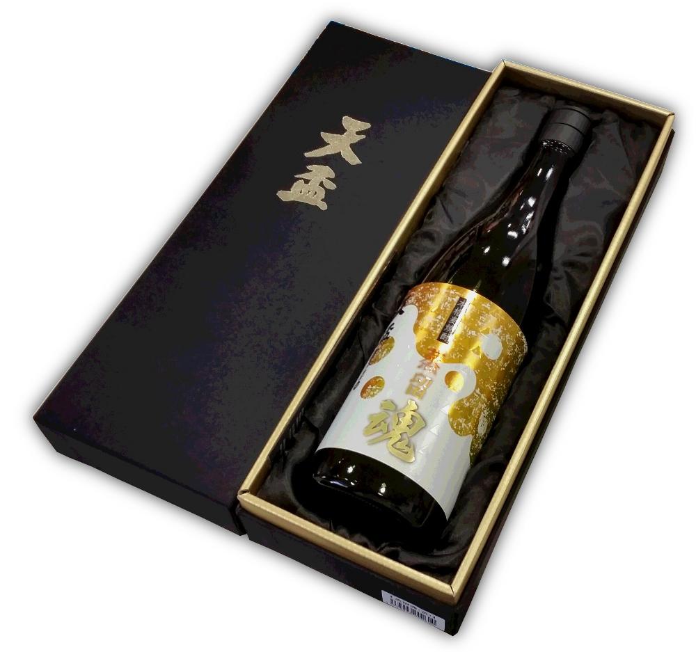 【麦焼酎25度】天盃 蒸留魂(黄)40度 720ml
