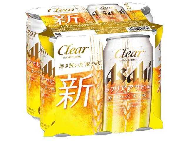 アサヒ クリアアサヒ 新登場 500ML6缶パック 4年保証