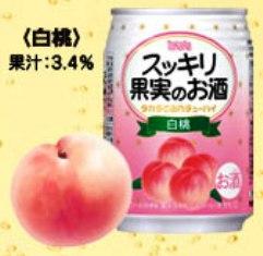 タカラ スッキリ果実のお酒 白桃250ML×24本入