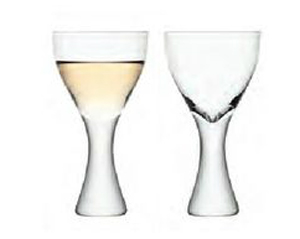LSA ELINA ワイングラス 300ml クリア <2個セット箱入り>