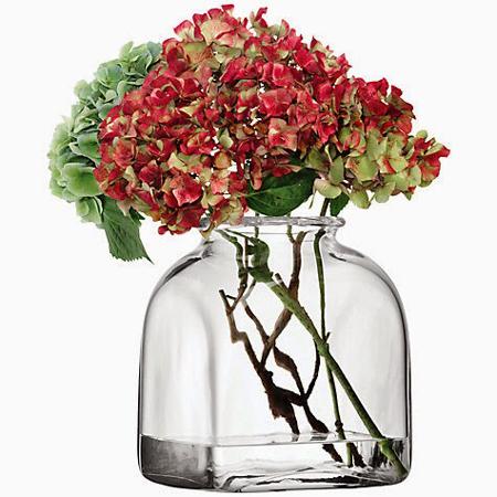 LSA UMBERTOVASE ベース(花瓶)クリア H250mm