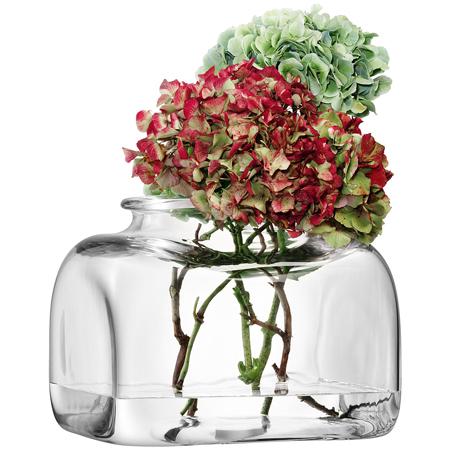 LSA UMBERTOVASE ベース(花瓶)クリア H260mm