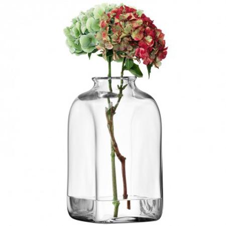 LSA UMBERTOVASE ベース(花瓶)クリア H310mm