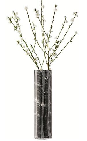 LSA LINENベース H450mmBLACK <箱入り>【花瓶】