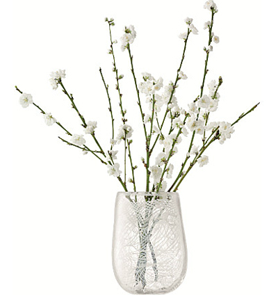 LSA COTTONベース H230mmホワイト <箱入り>【花瓶】
