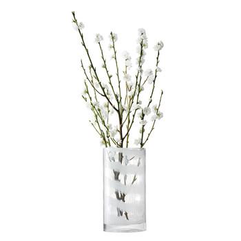 LSA LINENベース H320mmWHITE <箱入り>【花瓶】