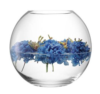 LSA GLOBE GLOBE VASE 〈CLEAR〉H240mm 【花瓶】<箱入り>