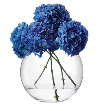 LSA GLOBE GLOBE VASE 〈CLEAR〉H340mm 【花瓶】<箱入り>