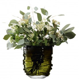LSA YARNVASE 〈Moss Green モスグリーン〉H260mm 【花瓶】<箱入り>
