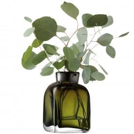 LSA TAFFETAVASE 〈Moss Green グリーン〉H170mm 【花瓶】<箱入り>