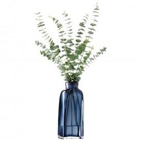 LSA TAFFETAVASE 〈Sapphire Blue ブルー〉H260mm 【花瓶】<箱入り>