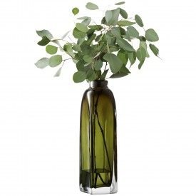 LSA TAFFETAVASE 〈Moss Green グリーン〉H380mm 【花瓶】<箱入り>