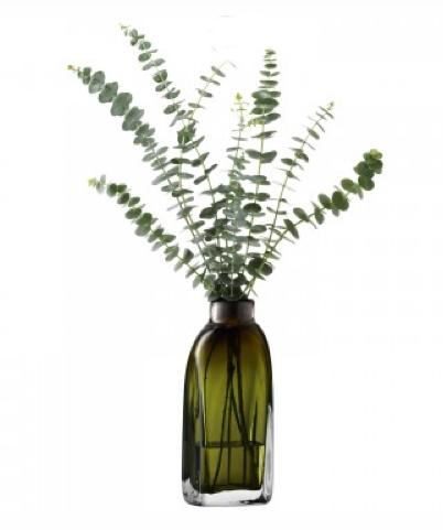 LSA TAFFETAVASE 〈Moss Green グリーン〉H260mm 【花瓶】<箱入り>