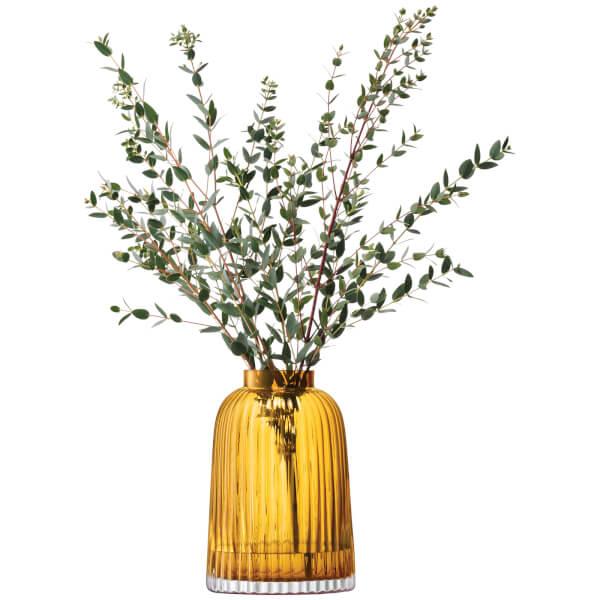LSA PLEATVASE 〈アンバー〉H260mm 【花瓶】<箱入り>