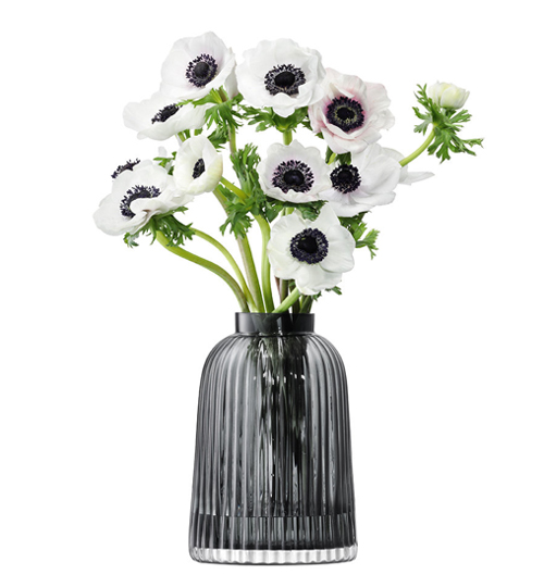 LSA PLEATVASE 〈グレイ〉H260mm 【花瓶】<箱入り>