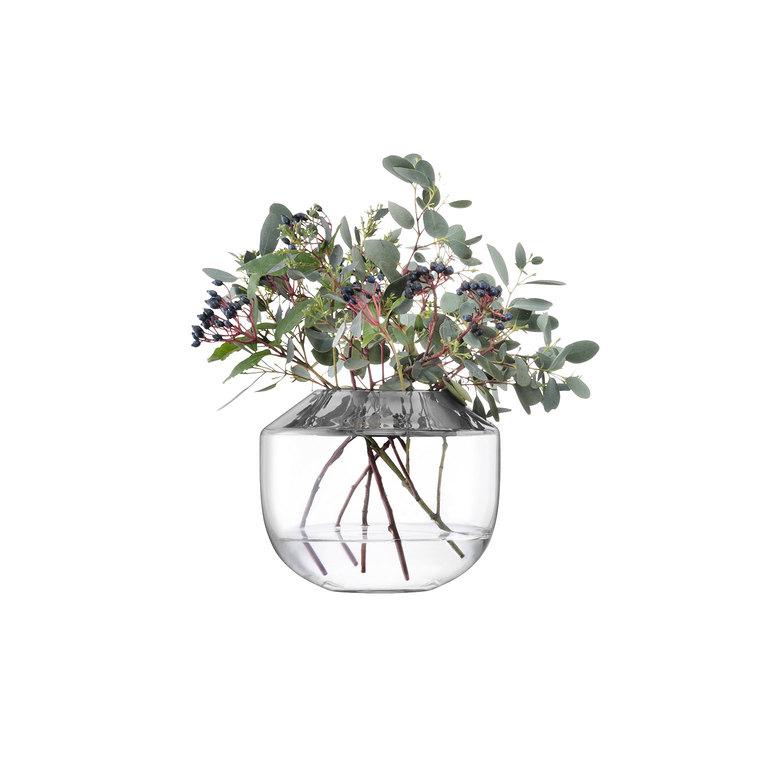LSA SPACESpace Vase Platium Goldベース、花瓶