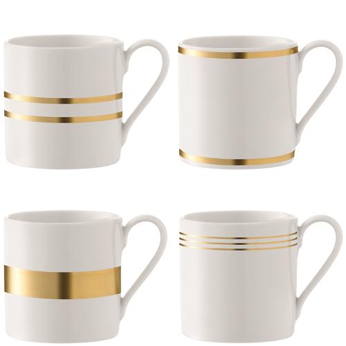 LSA DECODeco Mug Gold Assortedゴールド【4個セット】